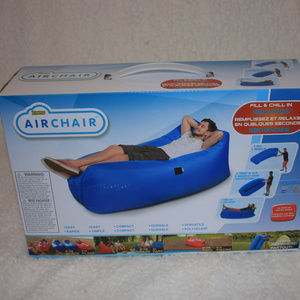 Airchair Air Lounger Festival Camping Relaxation
